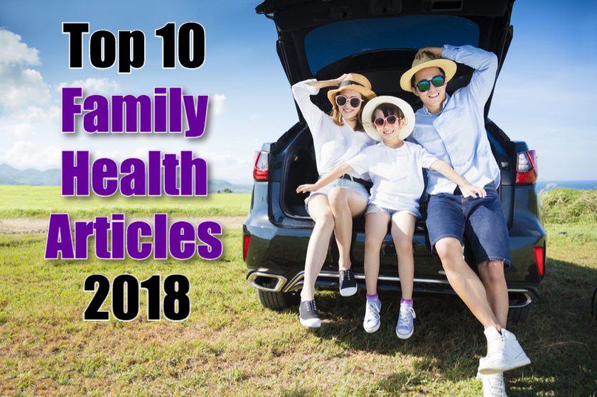 Top 10 Family Health Articles of 2018